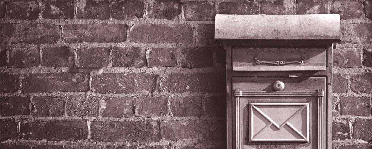 página de inicio de publimailing. servicios postales